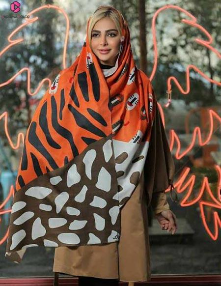 خرید شال زنانه جدید ۲۰۲۱   مدل های شال زنانه فانتزی – کاریزما کالر