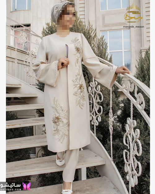 مدل مانتو سفید در طرح های اسپرت تابستانی و مجلسی زنانه 1400