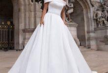 جدیدترین مدل لباس عروس یقه قایقی 2022 | لباس عروس شیک