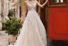 انتخاب لباس عروس براساس فرم بدن + تصاویر لباس عروس